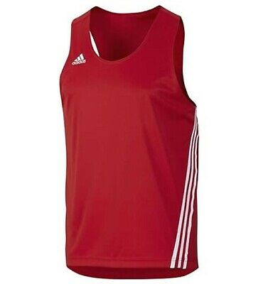 Adidas Base Punch Boxing Singlet Red