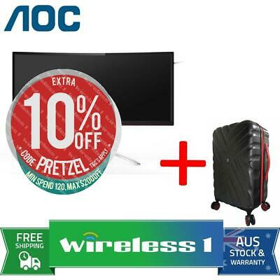 AOC AGON AG352QCX 35in UWHD 200Hz Curved Gaming Monitor + Travelling Suitcase