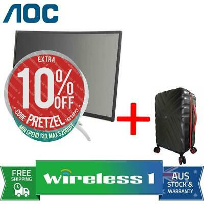 AOC AGON AG352UCG6 35in Curved UWQHD 120Hz Gaming Monitor + Travelling Suitcase