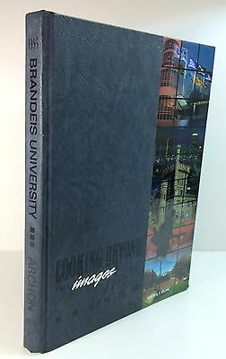 Brandeis University Yearbook 1995 Looking Beyond the Images Waltham, Mass