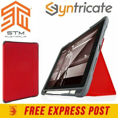STM DUX PLUS ULTRA PROTECTIVE CASE FOR iPAD AIR 10.5 (2019) - Red