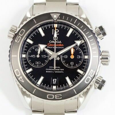 Near Mint Omega Seamaster 232 30 46 51 01 001 Planet Ocean Chrono Watch Used