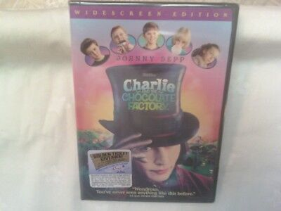 Charlie And The Chocolate Factory (DVD, 2005, Widescreen) - FACTORY SEALED!