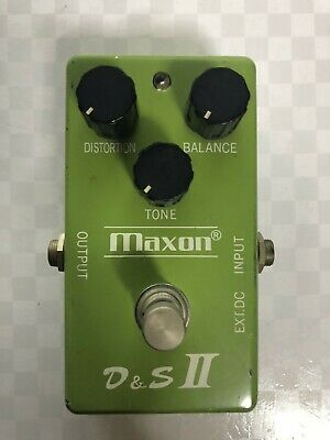 Maxon D&S II Distortion & Sustainer Distortion Guitar Effect Pedal FREE SHIPPING
