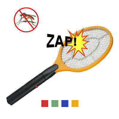 Bug Zapper Racket Electronic Mosquito Fly Swatter Handheld Electric Bat