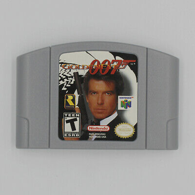 For Nintendo 64 N64 Game Card: GOLDENEYE 007 Cartridge Console US/CA