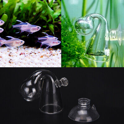 CO2 Monitor Tester Aquarium Plant Fish Tank Glass CO2 Concentration Drop Checker