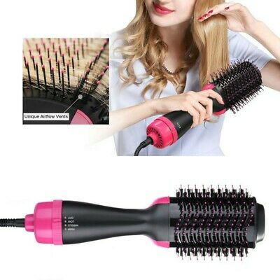 2 in1 Pro Salon One-Step Hair Dryer and Volumizer Oval Brush Design Hair Comb AU