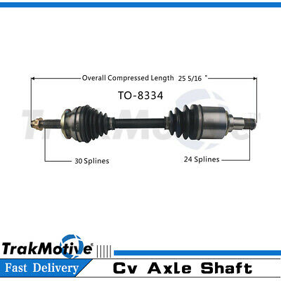 Front Right CV Axle Joint Shaft Fits Scion tC Toyota RAV4 SUV Coupe 2.4L I4 FWD