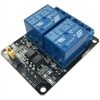 12V 2 Channel Relay Module optocoupler protection For Arduino PIC AVR DSP ARM