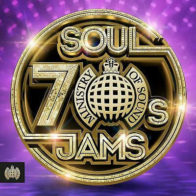 70s SOUL JAMS – MINISTRY OF SOUND V/A 3CDs (NEW/SEALED) Chic James Brown