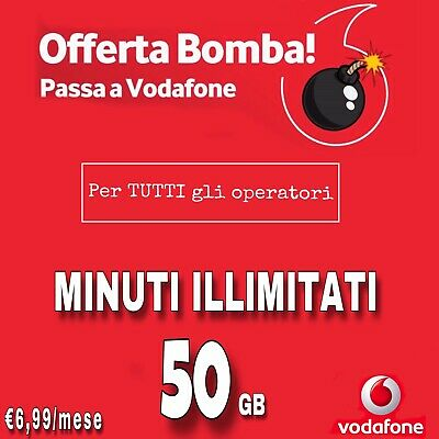 Coupon Passa A Vodafone Special Min Illimitati 50Gb Tim Wind Tre H3G