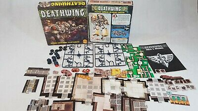 Deathwing Space Hulk Expansion; 100% complete, part on sprues [ENG,1990]
