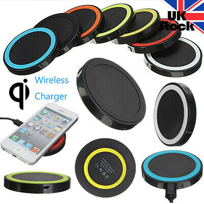 Qi Wirless Fast Charger Quick Charging Dock Pad For iPhone X iPhone 8 / 8 Plus