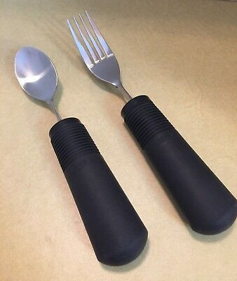 OXO Built Up Handle Fork & Spoon