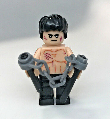 M649 Lego Custom Female Aikido Master Minifigure Bruce Lee 合気道 NEW