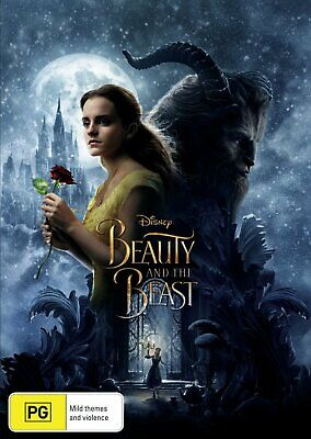 Beauty & The Beast Live Action DVD Region 4 Brand New Sealed Free Shipping AU