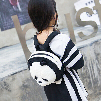 3D Cute Cartoon Panda Kids Small Backpack Preschool Bag Rucksack Schoolbag Z