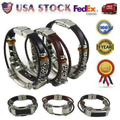 Wristband Band Strap Replacement Leather/Bracelet For Fitbit Alta/Fitbit Alta HR