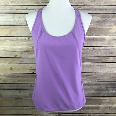 Activewear Tops Lucy Tech Womens Size Small Sleeveless Tank Top Shirt Yoga Navy Blue Fitness