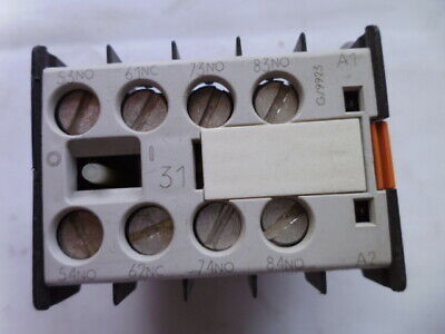 3TX4431-2A Siemens bloc contact auxiliaire auxiliary switch block 3NO + 1NC