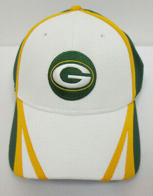 bc1b70e35d5421 Green Bay Packers Hat Cap New Era 39Thirty Flex Fit Stretch Mens Nfl  Football