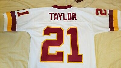best sneakers 416aa b30bd Mitchell   Ness Sean Taylor Washington Redskins White 2007 Retired Player  Jersey