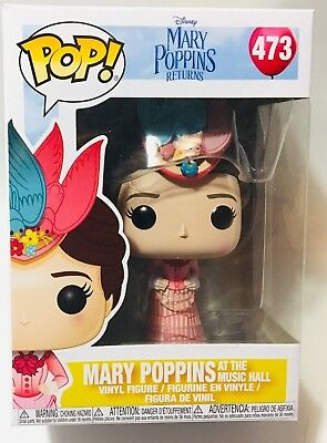 Funko Pop Mary Poppins Returns Mary Poppins with Bag Vinyl Figure Item #33907