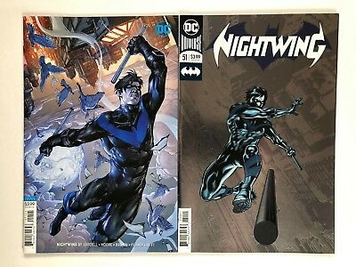 2018 Foil Cover NM B158 NIGHTWING #51