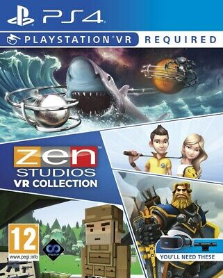 Zen Studios Ultimate VR Collection PSVR PS4 * NEW SEALED PAL *
