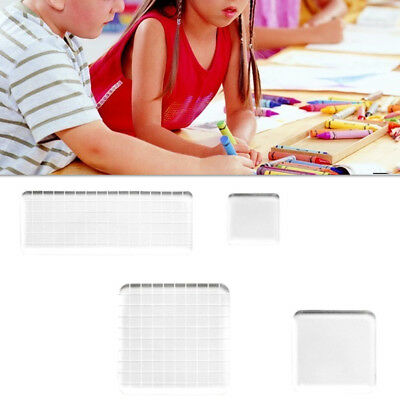 4Pc Stamping Blocks Set Utility Durable Grids Design Stamping Tools for Students