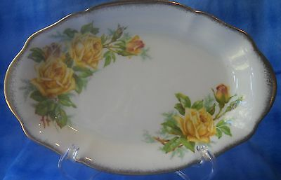 Royal Albert - Tea Rose Yellow - Relish Plate