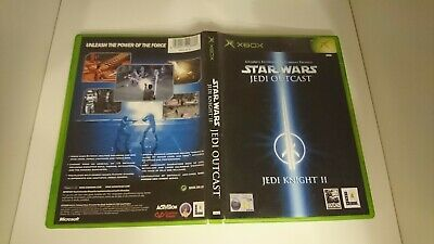 Star Wars Jedi Outcast Jedi Knight 2 - Microsoft Xbox - PAL - Case Only