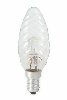 FR CA0347-1x E14 28W 230V Halogen B35 candle shape lamp clear glass 1 Piece