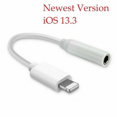 3.5mm Lightning To Earphone Jack Audio AUX Connector Adapter Cable For iPhone 7