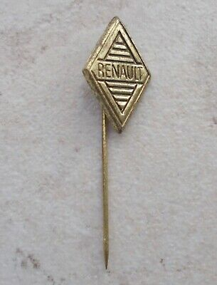 Badge épinglette RENAULT France vintage pins auto automobile 1960 ancien