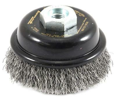 """Industrial Pro Forney 72855 3"""" Premium Crimped Wire Cup Brush  Upc:032277728554"""