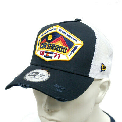 New Era 940 Distressed Colorado A Frame Trucker Cap Gorra Original 11973051