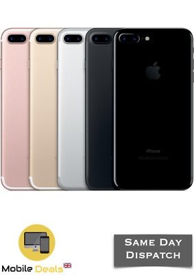 Apple iPhone 7 Plus 32GB 128GB 256GB LTE iOS Smartphone Unlocked All Colours