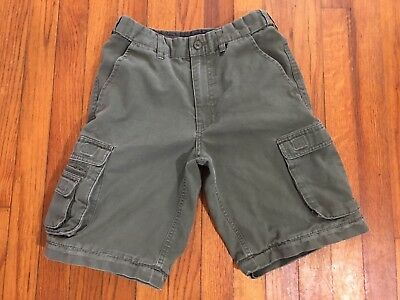 BOY SCOUTS OF AMERICA Youth 12 Size 26W Convertible Uniform Shorts Cargo BSA