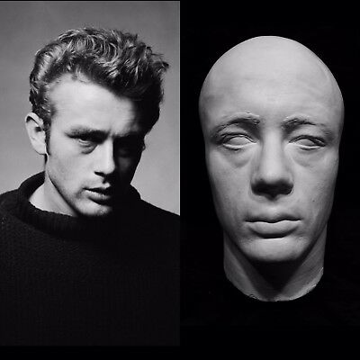"""James Dean Life Mask """"Rebel Without a Cause """" """"Giant"""" Very Rare & Hard to Find!!"""