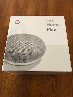 Google Home Mini - Smart Small Speaker - Chalk Grey -  BRAND NEW