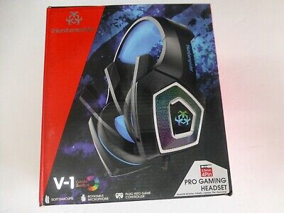 Hunterspider V1 Stereo Gaming Headset, w/ Mic, PS4 Slim Pro, Xbox One PC (S-3)