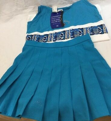 2df35a3f7556 Le Coq Sportif NWT Blue Pleated Women s Golf Tennis Skirt 100% Polyester  Size 12