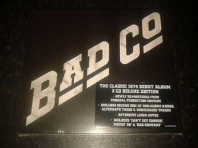 Bad Company - S/t 2 Cd Deluxe Edition 2015 Rhino New And Sealed