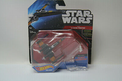 Hot Wheels Star Wars The Force Awakens Poe`s X-Wing Fighter NEW Sealed