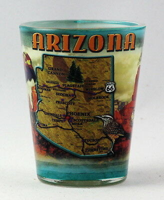 Arizona State Collage  Shot Glass Rtp