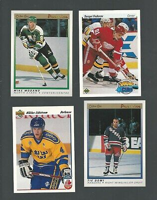 Tie Domi Nhl Rookie & Cards Of Interest All Nm