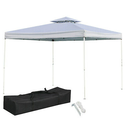 60e1cb5b9a 10x10' Pop UP Canopy Wedding Party Tent Folding Waterproof Gazebo Outdoor  W/Bag