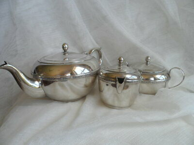 Guildford A1 Quality Teapot, Sugar Bowl and Creamer
